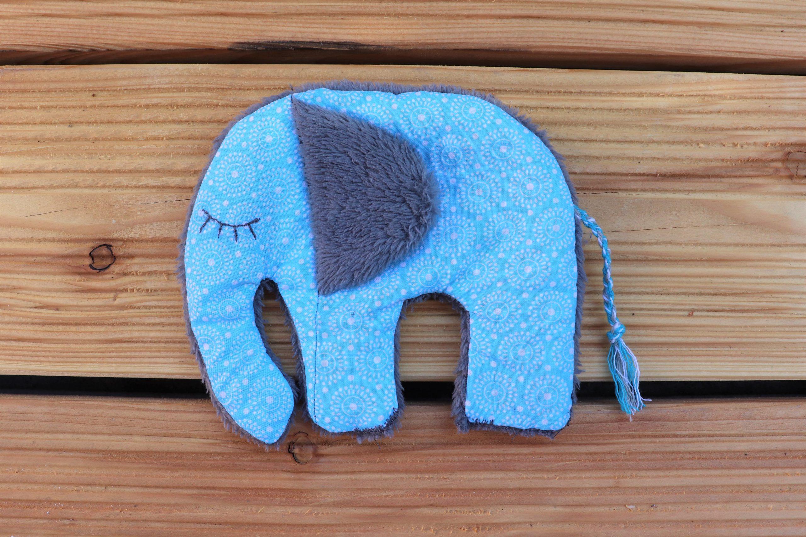 DIY Baby Elefanten-Knistertuch