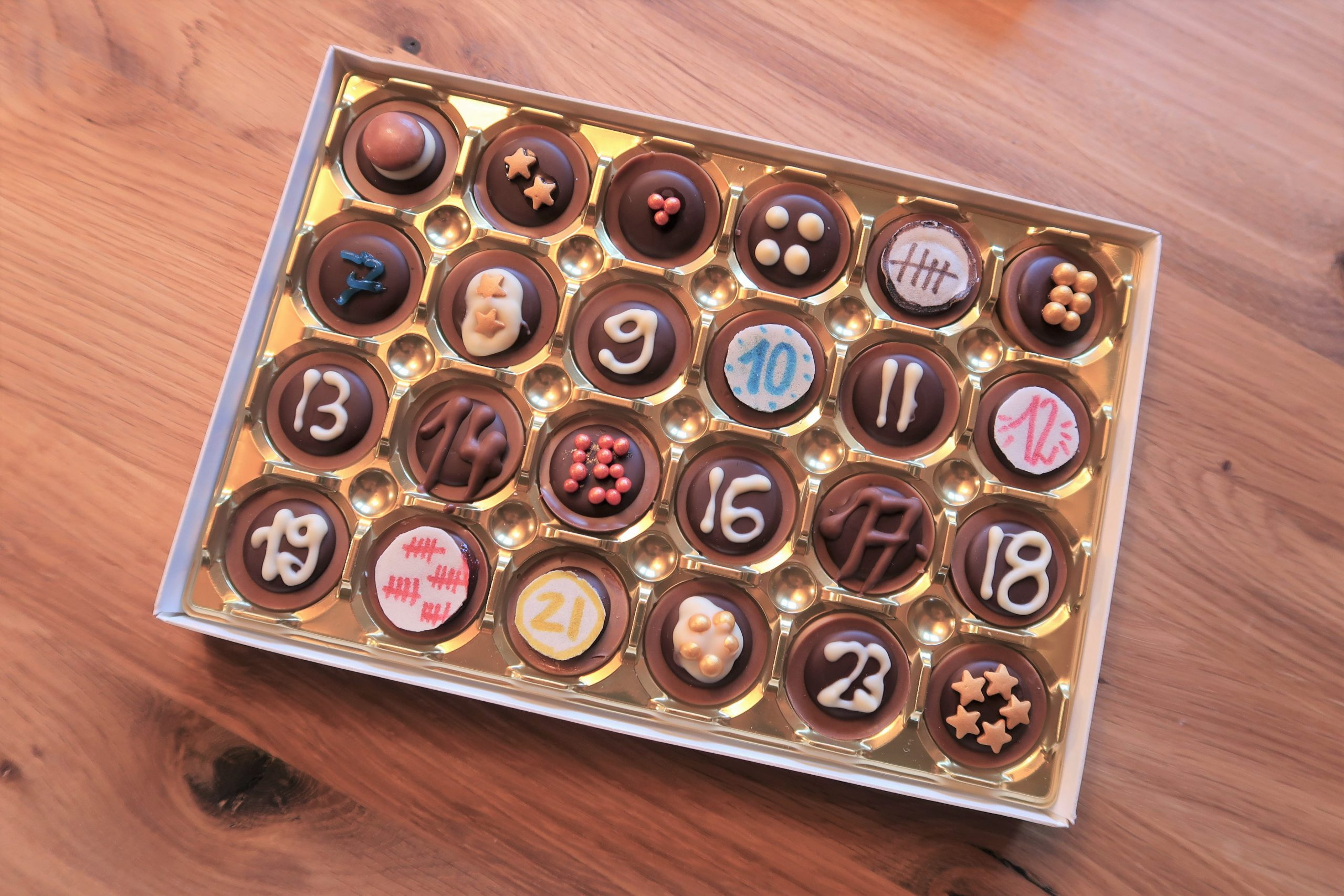 DIY Toffifee Adventskalender