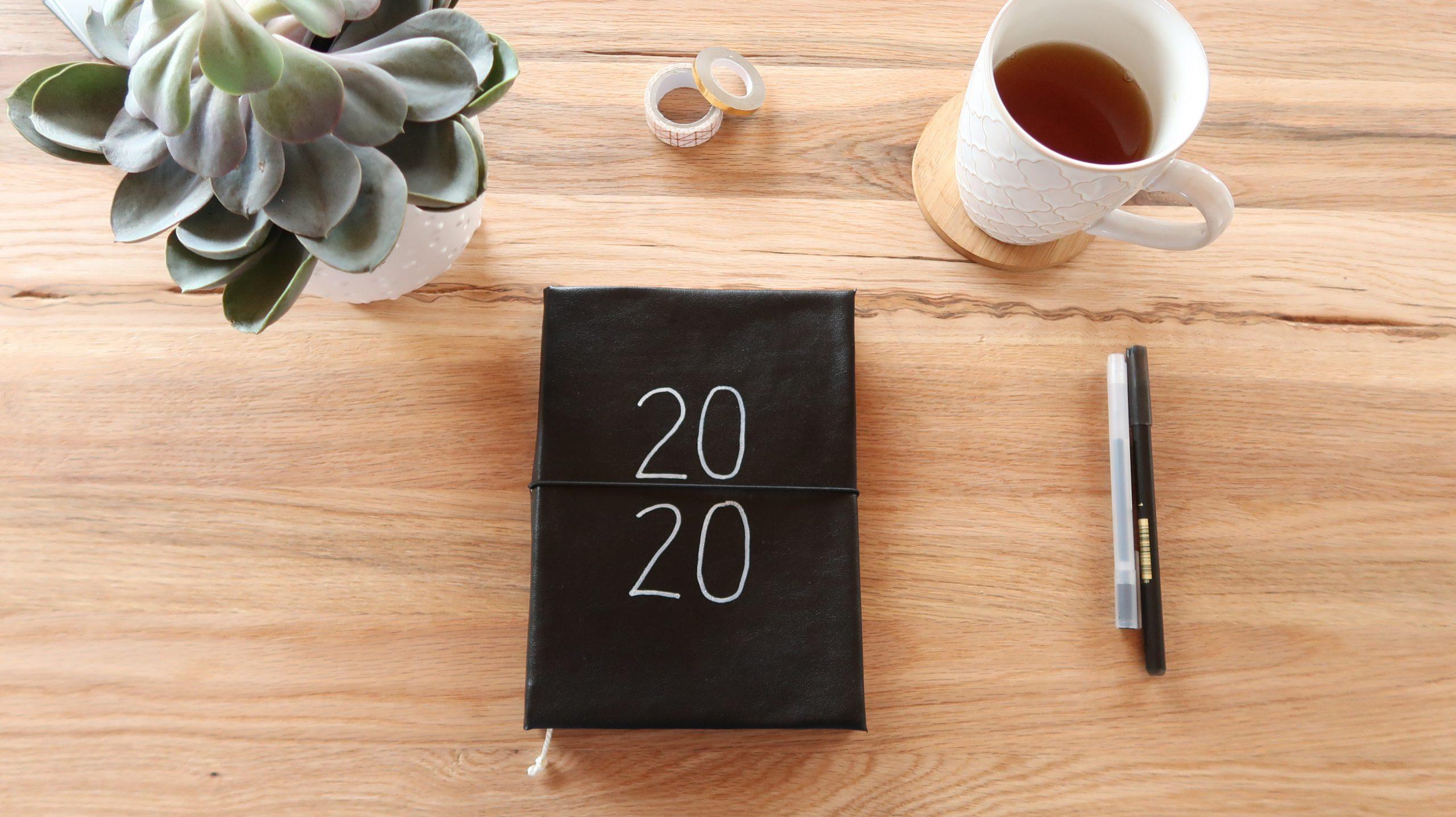 Gebundener DIY Kalender