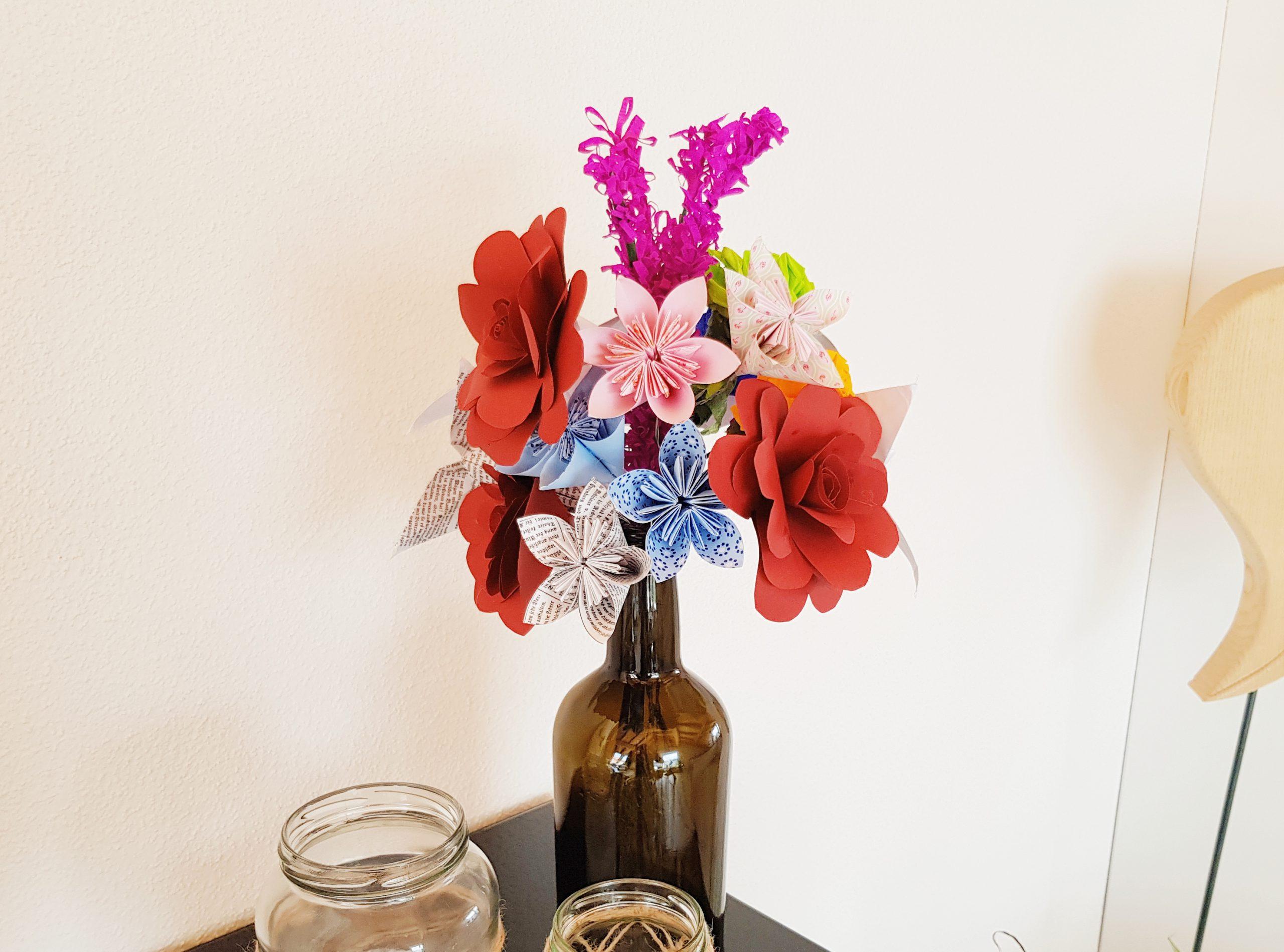 DIY Blumenstrauß aus Papier